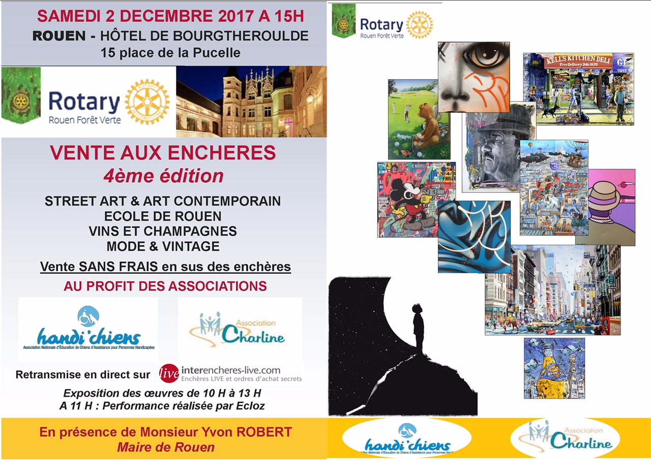 Vente aux enchères @ Hôtel de Bourgtheroulde | Rouen | Normandie | France